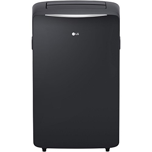 LG LP1417GSR 115V Portable Air Conditioner with Remote Control in Graphite Gray for Rooms up to 500-Sq. Ft.