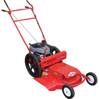 Sarlo Self-Propelled High Wheel Push Lawn Mower - 190cc Briggs & Stratton Professional Series Engine, 24in. Deck, Model Number WX24SP