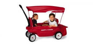 radio flyer ultimate family wagon with canopy