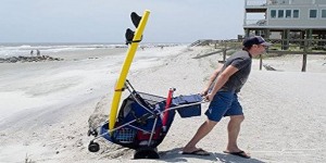 tommy all terrain beach cart review