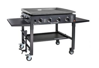 top flat top gas grill