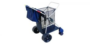 wonder wheeler foldable beach cart review
