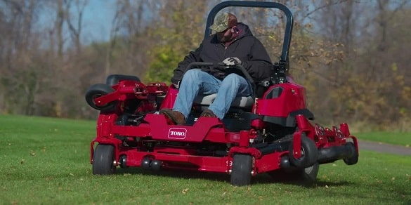 best commercial mower for rough path